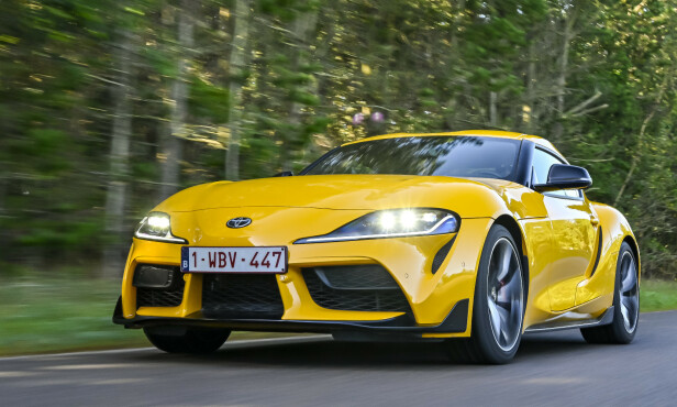 <strong>TOYOTA SUPRA:</strong> Pris fra 906.300 kroner. Foto: Jamieson Pothecary