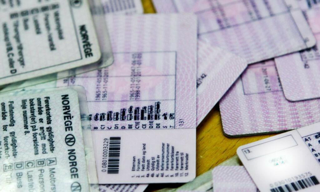 image: Nå må førerkortet fornyes
