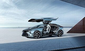 KONSEPT: Lexus LF-30. Foto: Toyota