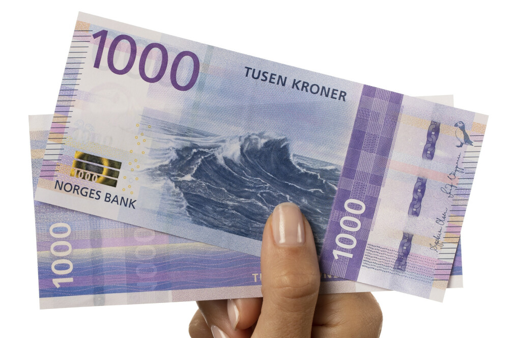 KOMMER 14. NOVEMBER: Slik ser den nye 1000-kronerseddelen ut. Foto: Nils S. Aasheim/Norges Bank