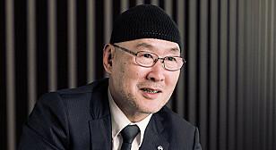 DESIGNDIREKTØR: Saturo Tai sier at Nissan Ariya er et resultat av godt sammenspill mellom design og ingeniørkunst. Foto: Nissan