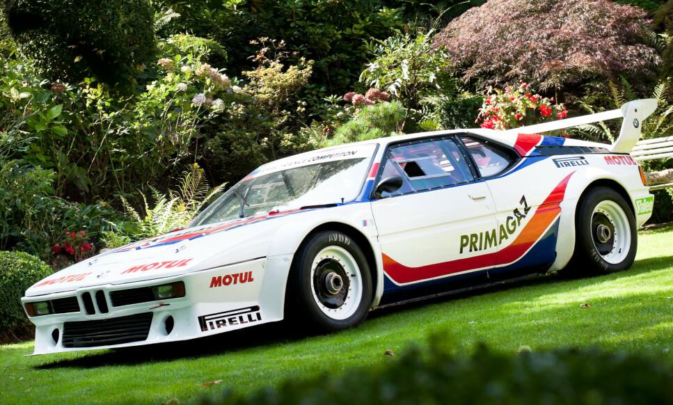 NESTEN-FIASKO: BMW M1 klarte seg ikke så bra mot storkonkurrenten Porsche på billøp. Dermed lagde de sin egen racingserie, «Procar-racing», med kun BMW M1 for å ikke tape ansikt. Foto: Kasper Van Wallinga
