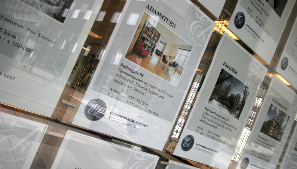 TROR DET BLIR NEDGANG: Sjeføkonom Jan Ludvig Andreassen i Eikagruppen sier at et rekordstort antall boliger på markedet samtidig som siste renteheving ennå ikke er slått fullt inn hos husholdningene, vil få konsekvenser for boligmarkedet. Han tror det blir et unormalt stort prisfall i boligmarkedet i årets siste kvartal. Foto: NTB scanpix