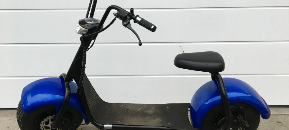 Anmeldt for ulovlig elsparkesykkel