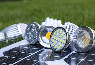 LED-pæretest: Svært mye å spare