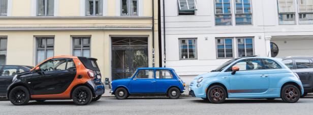 SMÅBILER? På 70-tallet hadde dagens småbiler vært som storbiler å regne. Foto: Jamieson Pothecary