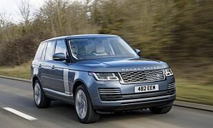 <strong>SUV-SKAM:</strong> Range Rover er sett på som er versting på veien, men anses som en kompakt-SUV i statene. Foto: Land Rover