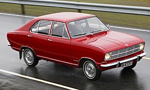 SPORTY: I likhet med andre Opel-modeller fra samme tidsepoke, er Kadett B underholdende å kjøre. Foto: Lord Arnstein Landsem