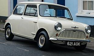 DET STØRSTE IKONET: Den kompakte Morris Mini er den mest kjente Morris-en for de fleste her hjemme. Men også Marina var en populær bil i Norge på 70-tallet. Foto: Morris