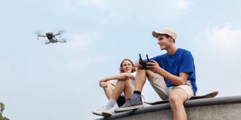 image: Den minste DJI-drona til nå