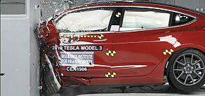 image: Tesla Model 3 får sikkerhetspris