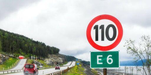 image: Fartsgrense på 120 km/t på høring