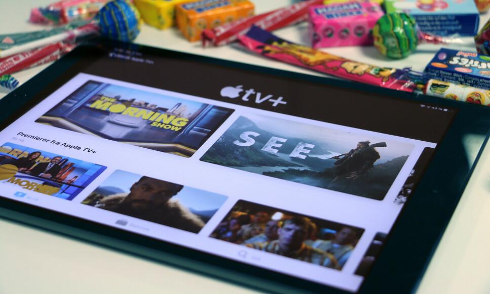 KLAR: I dag ble Apples nye TV-strømmetjeneste lansert i selskapets egen TV-app. Foto: Kirsti Østvang