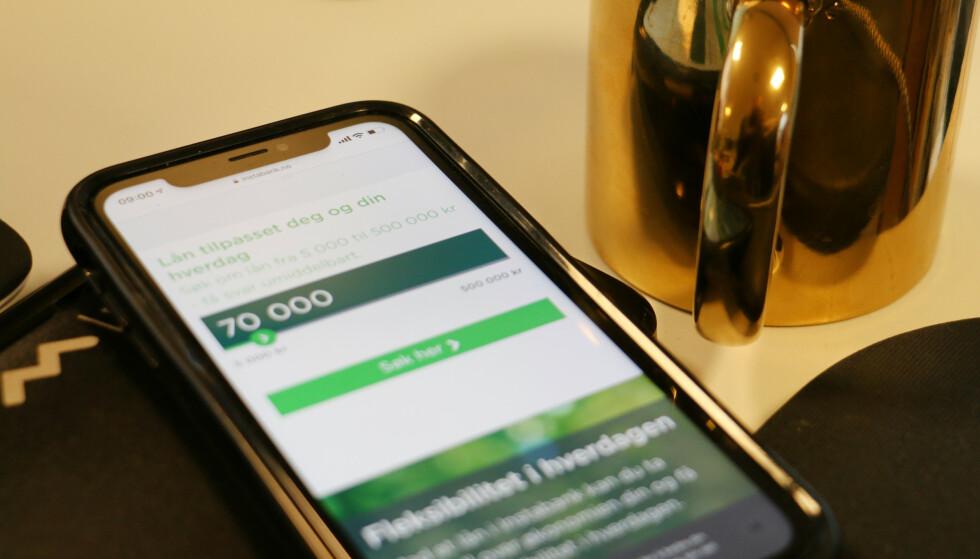 IKKE OVER 70: Instabank ville ikke gi samme lån til de over 70 år, som til de yngre kundene. Foto: Berit B. Njarga
