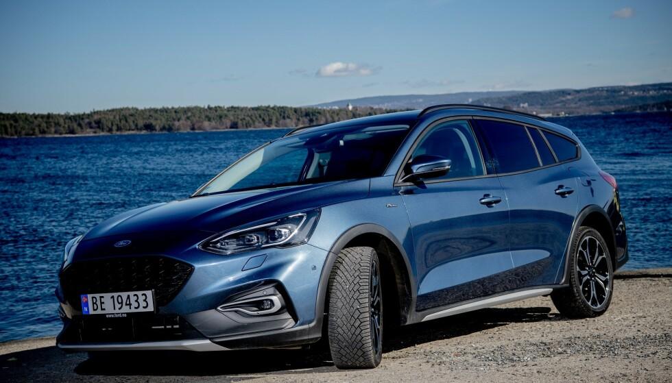 TESTET BIL: Tre testpiloter testet Ford Focus i en uke.