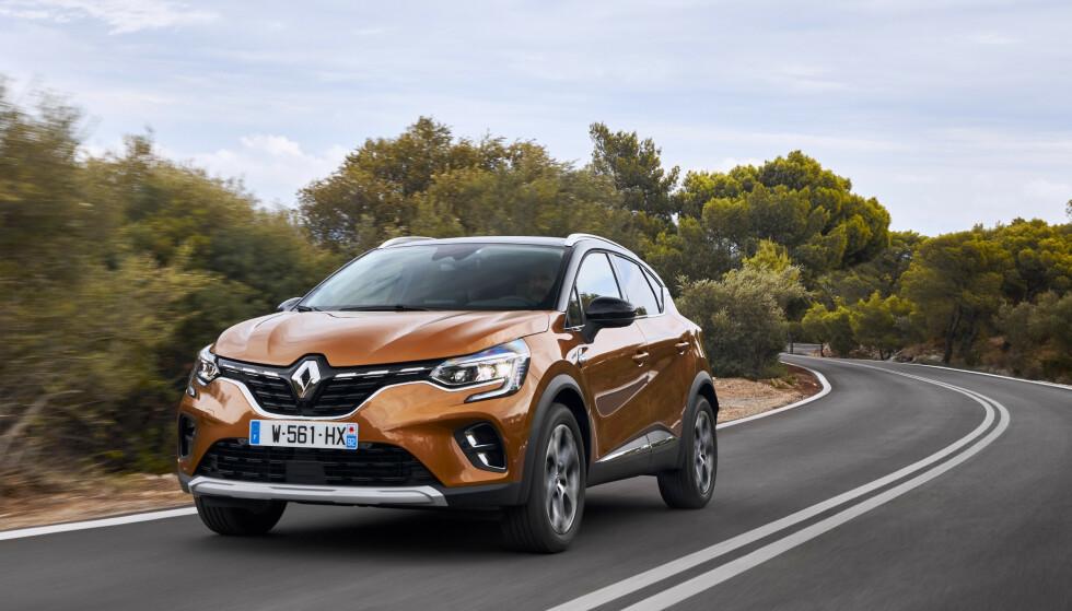 SMÅBILEN ER BLITT STØRRE: Renault Captur. Foto: Renault