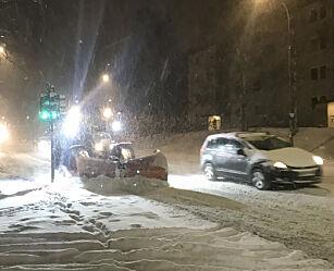 image: Snøvær på Østlandet: Vær forberedt på køkaos