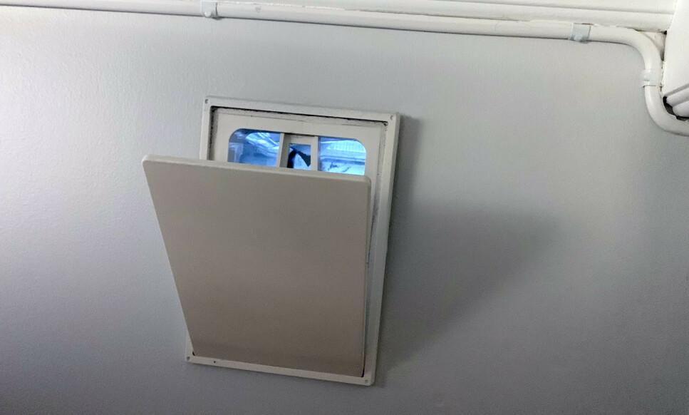 HELÅRSBRUK: Bor du i en bolig med ventiler, bør du ikke lukke dem selv om det er vinter. Foto: Bjørn Eirik Loftås
