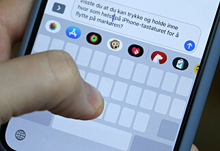 Flytt markøren på iPhone-tastaturet raskere