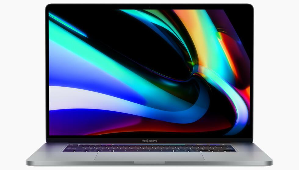 ERSTATTES: Apple bytter ut sin største 15-tommer MacBook Pro med en enda større 16-tommerutgave. Den har også mye nytt under panseret. Foto: Apple