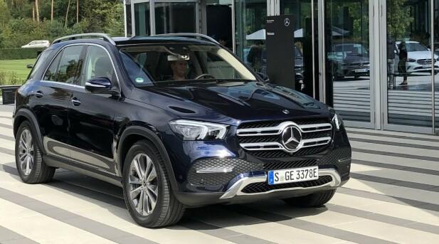 <strong>MERCEDES-BENZ GLE:</strong> Pris fra 925.000,-. Foto: Daimler
