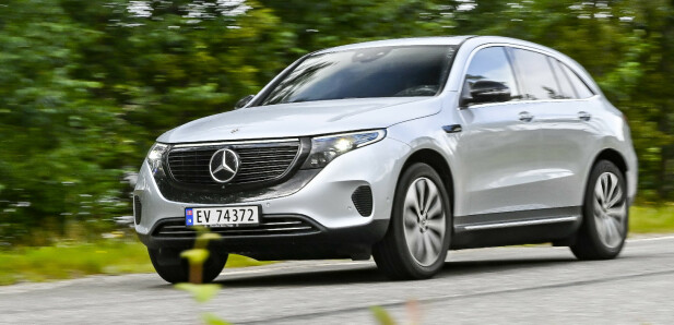 <strong>MERCEDES-BENZ EQC:</strong> Pris fra 604.000,-. Foto: Jamieson Pothecary