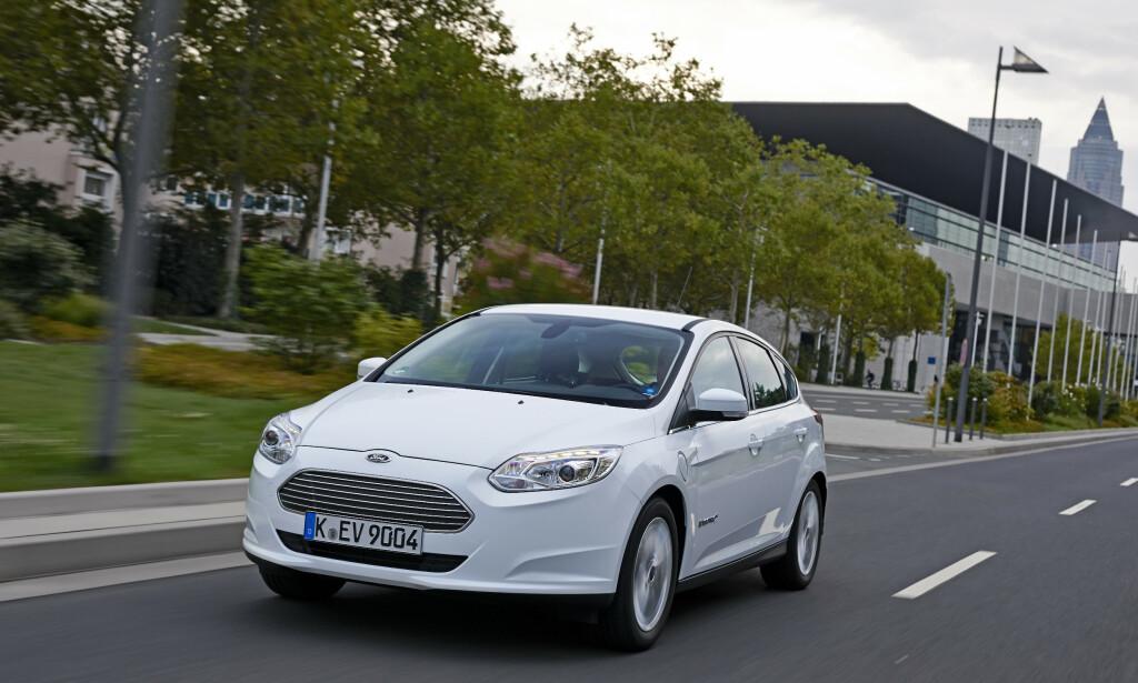 FORD FOCUS ELECTRIC: Ikke en spesielt godt utviklet plattform. Foto: Ford