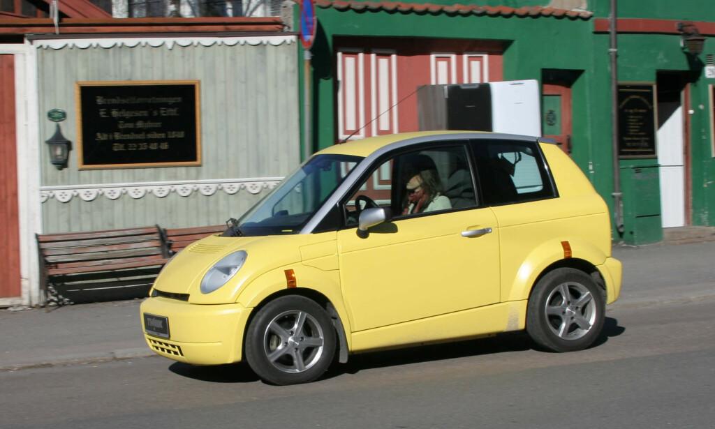 THINK CITY: Det endte med 2336 produserte biler totalt. Foto: Rune Korsvoll