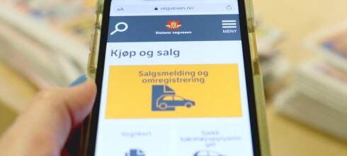 Kjøretøytjenestene til Statens vegvesen tas ned