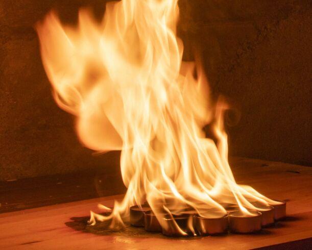 image: Advarer mot feil lysbruk: Kan føre til brann