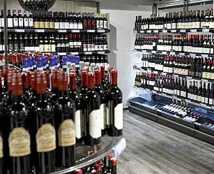 image: Her blir det vinmonopol