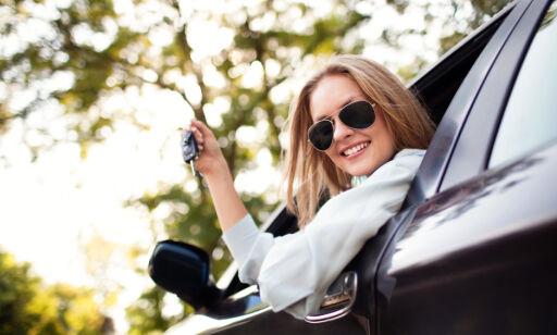 image: - La dama kjøpe bilen