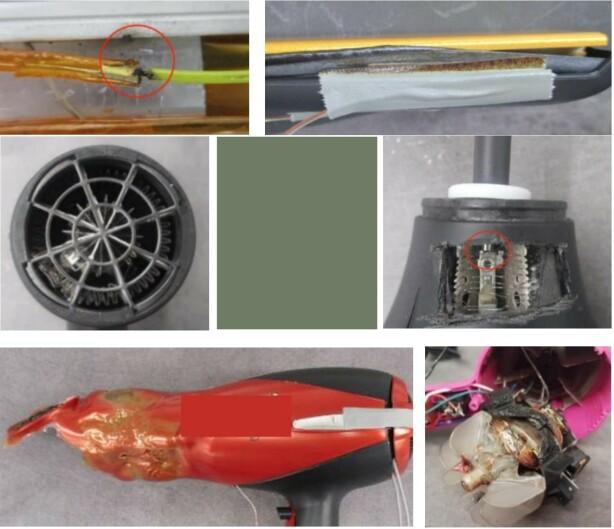 FRA TESTEN: Her er noen av produktene som feilet i testen. Foto: Prosafe