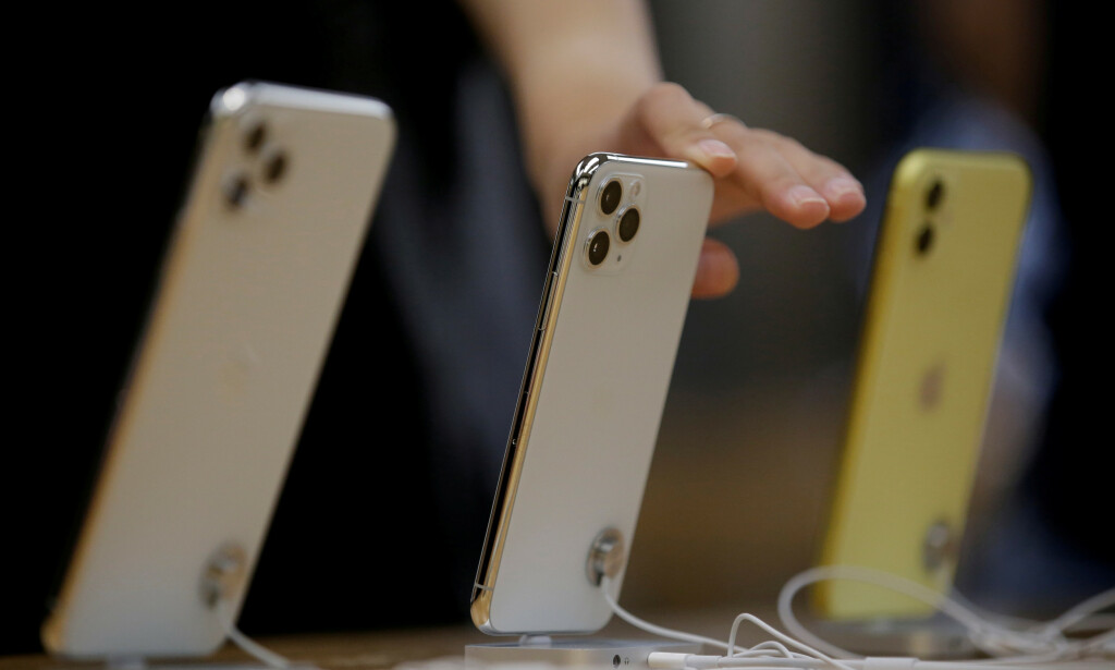QUIZ: Tema denne uka er iPhone – hva kan du om Apples hjertebarn? Foto: Jason Lee / Reuters / NTB Scanpix