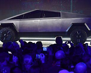image: Tesla lanserte sin første elektriske pickup