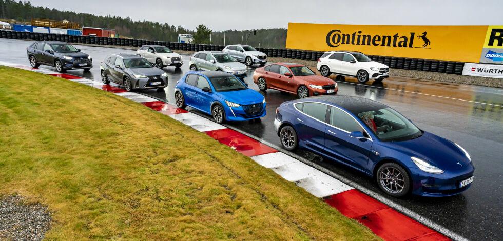 image: Én av disse blir Årets Bil