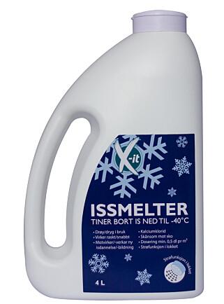 IS-SMELTER: Skal fjerne is på en mer skånsom måte. Foto: Produsenten.