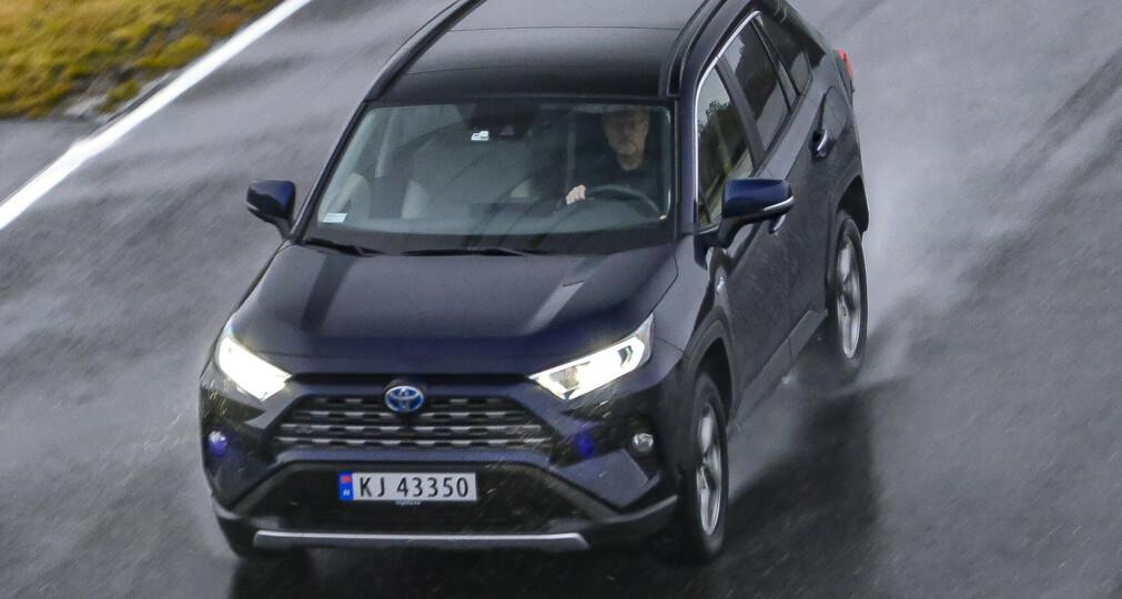 SUKSESS: Toyota har truffet blink med sin kjempesuksess, SUV-en RAV4. Den har bidratt stort til å gjøre Toyota til verdens ledende bilmerke. Foto: Jamieson Pothecary