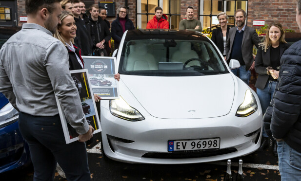 Tesla Model 3. Foto Jamieson Pothecary