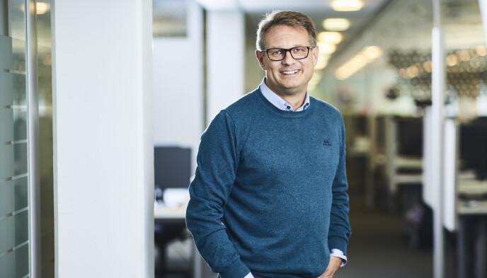 Sigmund Clementz er kommunikasjonssjef i If.