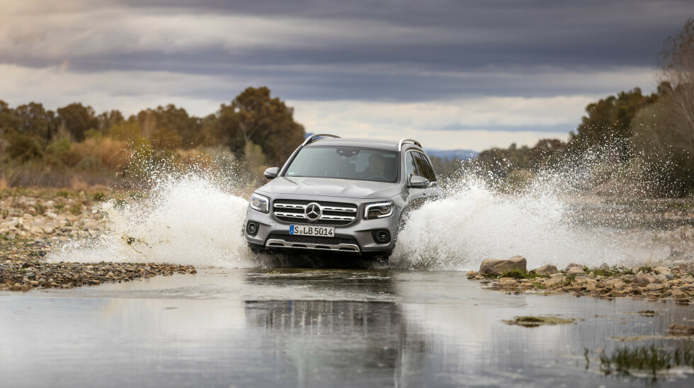 Mercedes-Benz GLB + Mercedes-AMG GLB 35 @ Andalusia 2019