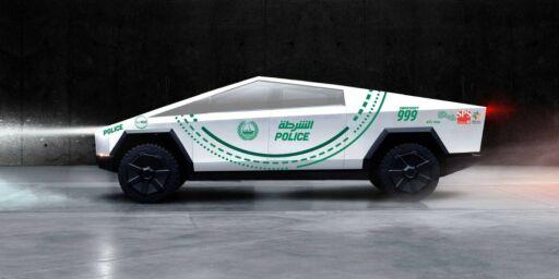 image: Verdens særeste politibil?