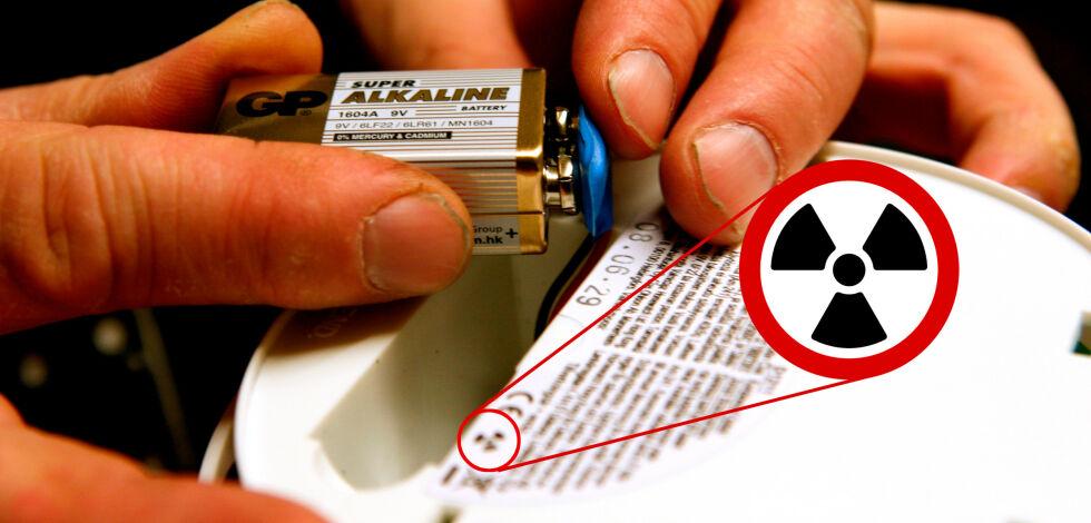 image: Symbolet som avslører røykvarsleren