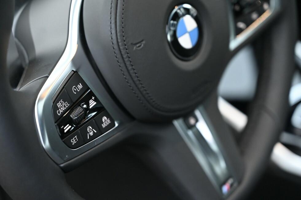CRUISE: Fartholderen bruker alle hjelpesystemer og er nyttig på lengre turer for ikke å miste førerkortet, for det er meget lett i denne bilen. Og den er enda bedre i køkjøring. Systemet virker fra stillestående til 210 km/t.