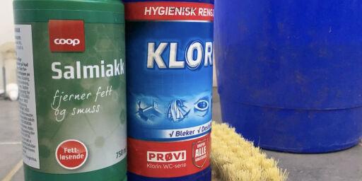 image: Ikke bland klorin og salmiakk!