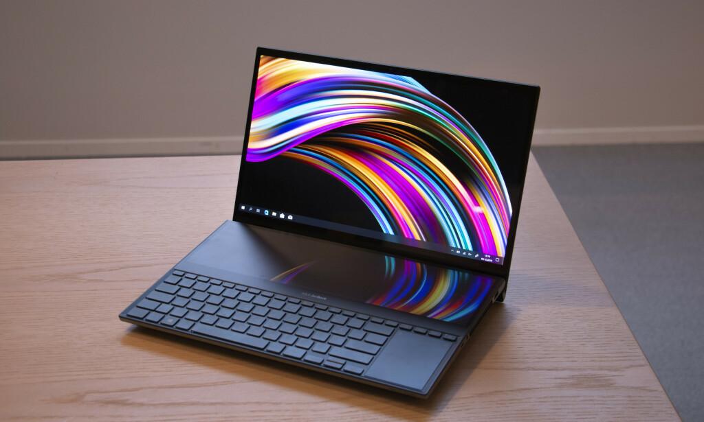 LEKKER: OLED-skjermen er rett og slett fantastisk. Foto: Martin Kynningsrud Størbu