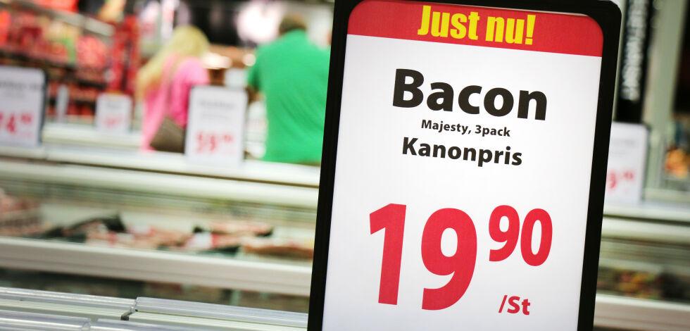 image: Nå får du mindre for pengene på svenskehandel