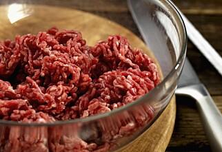 Friskmelder norsk kjøttdeig
