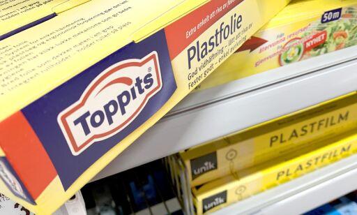 image: Taper i plastfolie-test