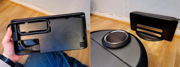 SMART: Å kunne skjule overflødig ledning i basen er smart, siden den da kan holdes stram mot stikkontakten. Foto: Pål Joakim Pollen